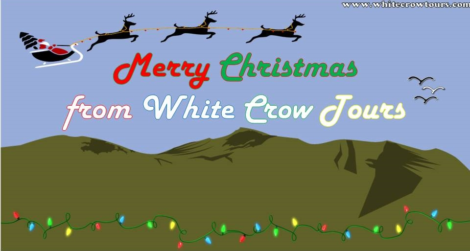 Merry Christmas from White Crow Tours